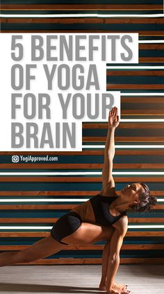 The benefits of yoga are broad and the list is long! The benefits of yoga for your mind specifically are fascinating - learn 5 ways yoga helps your mind. Yoga For You, My Yoga, Yoga Flow, Yoga Benefits, Health Benefits, Health Tips, Meditation Benefits, Different Types Of Yoga, Yoga For Stress Relief