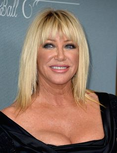 Suzanne Somers has wrote several books on health and wellness and represents natural ways for anti-aging treatments. Description from examiner.com. I searched for this on bing.com/images