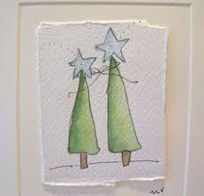 Image result for watercolour christmas card ideas