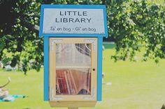 Paperback Castles: Læsekroge og bogoaser #3: Odenses mindste bibliotek