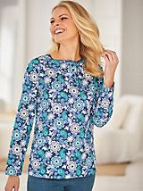 """This top looks great, fits great and is easy care. Perfect for these cooler fall days. It's good for layering too.""~ Happy Customer on our Long Sleeve Pointelle Top from Blair Soft Summer Color Palette, Holiday Wear, Only Fashion, Lightweight Jacket, Best Sellers, Lounge Wear, Amazing Women, Floral Tops, Fashion Outfits"