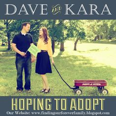 Finding Our Forever Family: Our adoption blog! Please visit to learn more... #adoption #hopingtoadopt