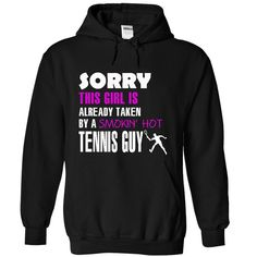 This girl is taken by a Tennis Guy
