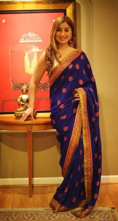 Sabyasachi sari from the Grand Trunk.  Really want this one for myself.