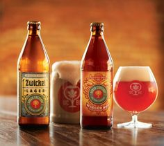 Urban Chestnut, out in bottles in your stores soon!  Proud of my big brother's brewery!
