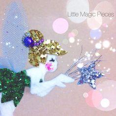 Tinkerbell Inspired Hair Clip - Dovile @littlemagicpieces Instagram photos | Websta (Webstagram)