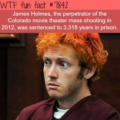 James Holmes - WTF fun facts