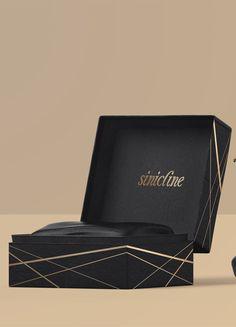 Luxury black and gold shoe box. #packaging #shoebox