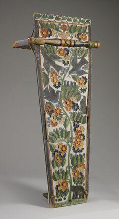Kanien'gehaga (Mohawk) cradleboard 1870