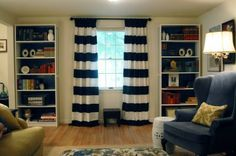 When I get a sewing machine and need new curtains, I want to do this.