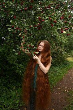 Длинные волосы I very long hair Rapunzel Models Photo Session Gerovital