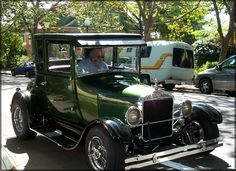We shipped this 1927 Model T hot rod from California to Pennsylvania using a specialty car transporter.