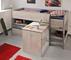 multifunktionsbett etagenbett mika m bel kinderzimmer pinterest katzen. Black Bedroom Furniture Sets. Home Design Ideas