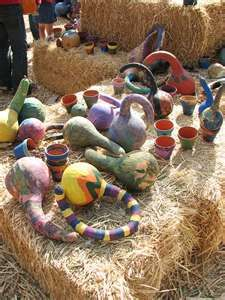 painted gourds | Flickr - Photo Sharing!