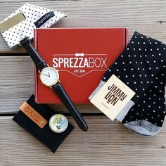 "#GetDapper the easy way with SprezzaBox. All of the latest in men's lifestyle and fashion accessories, curated into one box for just $28 a month straight to your doorstep. Use code ""PINTEREST10"" for 10% off your first box."
