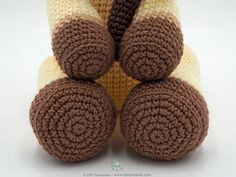 Amigurumi Giraffe Alpha Step by Step Crochet Crochet Animal Amigurumi, Crochet Teddy, Crochet Animal Patterns, Stuffed Animal Patterns, Crochet Animals, Crochet Dolls, Half Double Crochet, Single Crochet, Step By Step Crochet