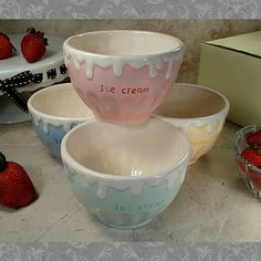 As low as $6.49 These bowls make the perfect party favor for any party.  Who doesn't like ice cream.  Find more great favors at https://www.bellabridalandheirlooms.com/wedding-party-favors.html