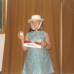 """Shawna's feeble attempt to become the """"Marlboro Women"""" failed miserably . She could not compete with the rugged """"Marlboro Man"""". Family Photo Album, Family Photos, Vintage Photographs, Vintage Images, Vintage Pictures, Old Pictures, Old Photos, Marlboro Man, Awkward Photos"""