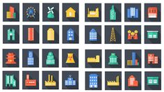Download this free set of vector icons