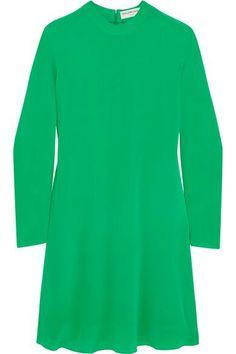 €1195 BALENCIAGA  Crepe de chine dress  €1,195