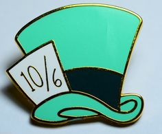 DISNEY TRADING PIN CHARACTERS MADHATER MAD HATTER HAT ALICE IN WONDERLAND
