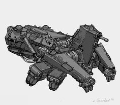 DrawCrowd is a place to fund your creativity. Starship Concept, Fighting Robots, Sci Fi Armor, Tecno, Robot Concept Art, Mecha Anime, Suit Of Armor, Cyberpunk Art, Futuristic Cars