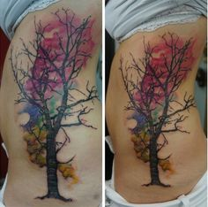 16 Tattoos you'll want for spring and summer: Birds on a branch