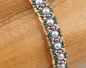 Instructions for Crest and Trough Bracelet Beading von njdesigns1