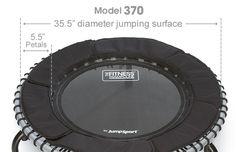 JumpSport Fitness Trampoline Model 370