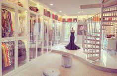 The biggest closet in the world is up for sale! Take a peek before someone buys it