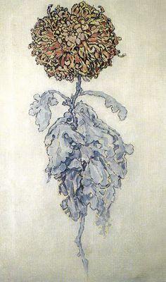Flores y Palabras: Flores de Piet Mondriaan