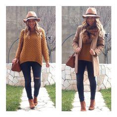 Y el look de hoy!! Jeans y estola #stradivarius (rebajas) Sombrero #sfera  Jersey #hm (esta tb ahora rebajado)  Abrigo #pullandbear (old)  Bolso #stradivarius (old) Botines #tiendalocal  #camelcoat#wearing #ootd #outfit #outfitoftheday #look #lookbook #style #iger #instagramers #instablog  #clothes #moda #fashiondiaries #trend #trendy #instagood #instamood #instafashion #instastyle #instalook