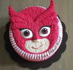 Pj Mask Pj Masks Birthday Cake, Shopkins Birthday Cake, 5th Birthday Cake, Kids Birthday Themes, 4th Birthday Parties, Girl Birthday, Festa Pj Masks, Family Birthdays, Mask Party