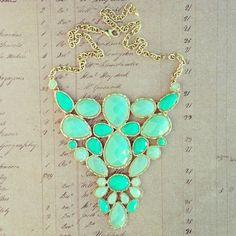 Preppy necklace.