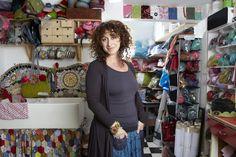 Gillian Harris, feltmaker, Surrey Artists Open Studios