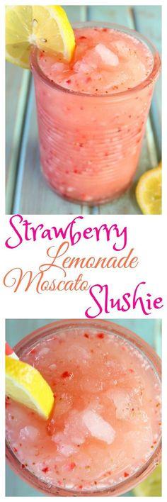 strawberry-lemonade-moscato-slushie