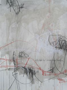 jason craighead - studio floor drawing • march 2008 22w x 30h  •  mixed media on paper