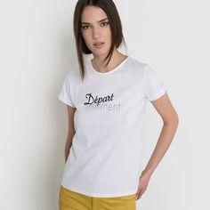 T-shirt à message coton bio R essentiel