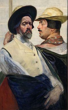 Autoportrety Jacka Malczewskiego w zbiorach lwowskich ... Painting, Polish Language, Painters, Painting Art, Paintings, Painted Canvas, Drawings