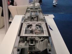 Austal MRV Cutaway showing aft portion of the ship including flex deck and boat ramp