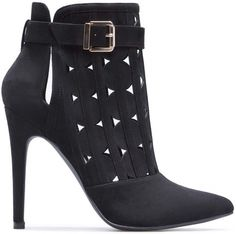 'Alba' Pointy-Toe Booties