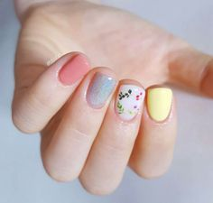 Want to know how to do gel nails at home? Learn the fundamentals with our DIY tutorial that will guide you step by step to professional salon quality nails. Pretty Nail Art, Cute Nail Art, Uñas Diy, Diy Nails, Gel Nails At Home, Happy Nails, Manicure E Pedicure, Super Nails, Nagel Gel