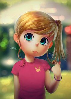 Blondie by DFer32.deviantart.com on @DeviantArt