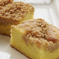 Lemon Crumb Cake: Lemon Crumb Cake - simple, yet so delicious. This lemony-tart Duncan Hines Lemon Supreme Cake with sugary-sweet topping is the perfect complement to afternoon tea, Sunday brunch, or relaxing on your sun-filled porch.