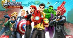 MARVEL Avengers Academy Oyunu App Store'da #iphone #iPad #Appstore #oyun #game