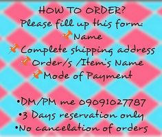 For more questions and infos search for: #niensboutiqueFAQs ------- #onlineshop #onlineshopph #philippines #manilabased #manilabasedshop #bulacanbased #caloocanbased #preloved #prelovedph #prelovedclothes #ukayukay #brandnew #brandnewph #kawaiishop #cuteshop #faqs #niensboutique #followforfollow #onlineshopping #legit #legitseller #legitbuyer #onlineshoppingph #follow4follow #lookingforph #looking4ph #gadgetsph #fashion #fashionph by niensboutique