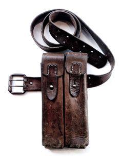 MANDULA VINTAGE DOUBLE POCKET BELT BAG |