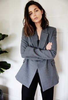 Must Have: The Gray Blazer