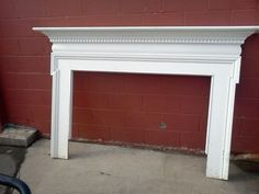 Two olde Fireplace Mantels