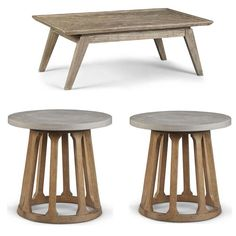 ART Furniture - Epicenters Austin Brown Rosedale 3 Piece Occasional Table Set - 235300-2839-235303-1501 High Quality Furniture, Art Furniture, B & B, 3 Piece, Living Spaces, Table Settings, Brown, Home Decor, Furniture